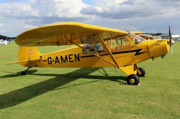 G-AMEN - Private Piper PA-18 Super Cub