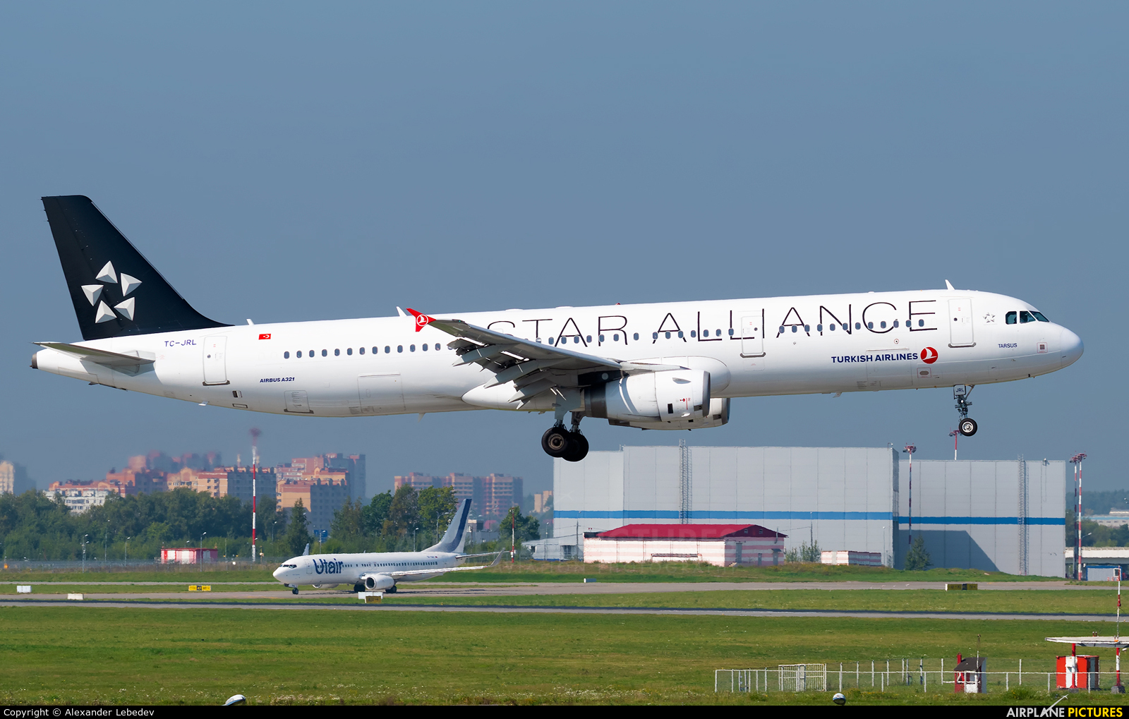 Turkish Airlines TC-JRL aircraft at Moscow - Vnukovo