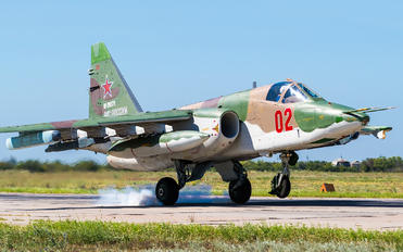 02 - Russia - Air Force Sukhoi Su-25SM3