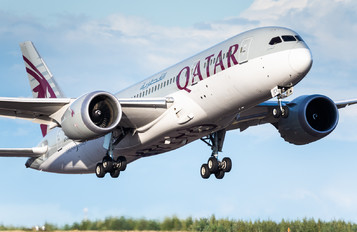 A7-BCV - Qatar Airways Boeing 787-8 Dreamliner