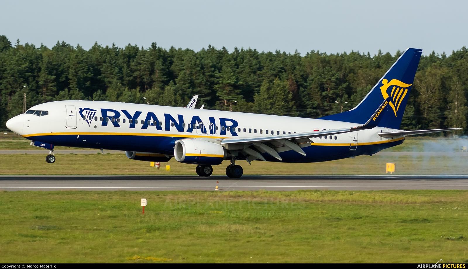 Ryanair Sun SP-RSP aircraft at Gdańsk - Lech Wałęsa