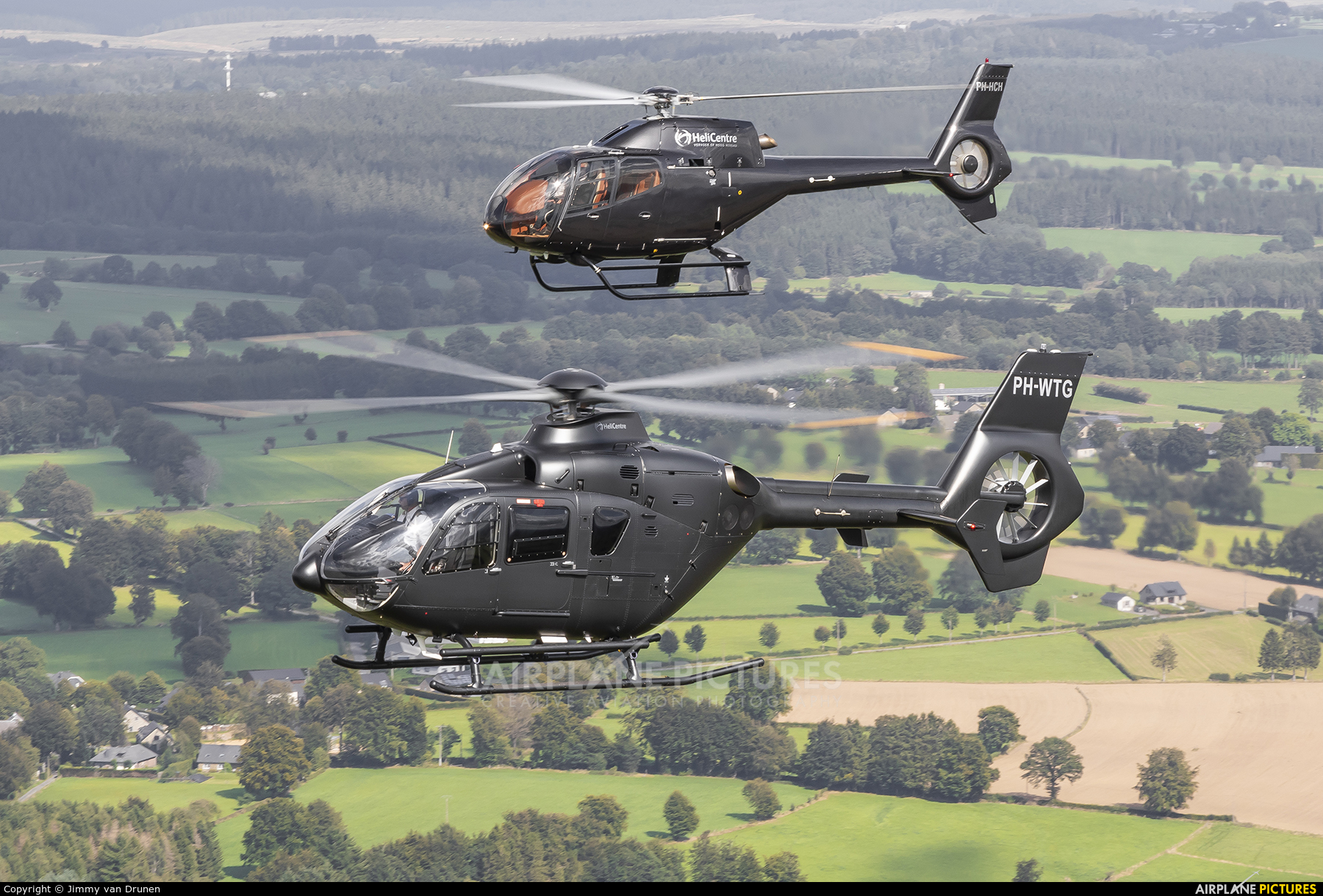Helicentre PH-WTG aircraft at In Flight - Belgium
