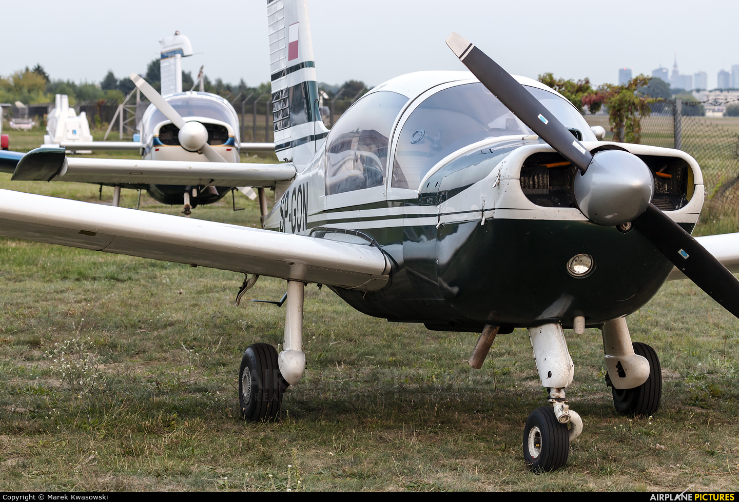 Private SP-GON aircraft at Warsaw - Babice
