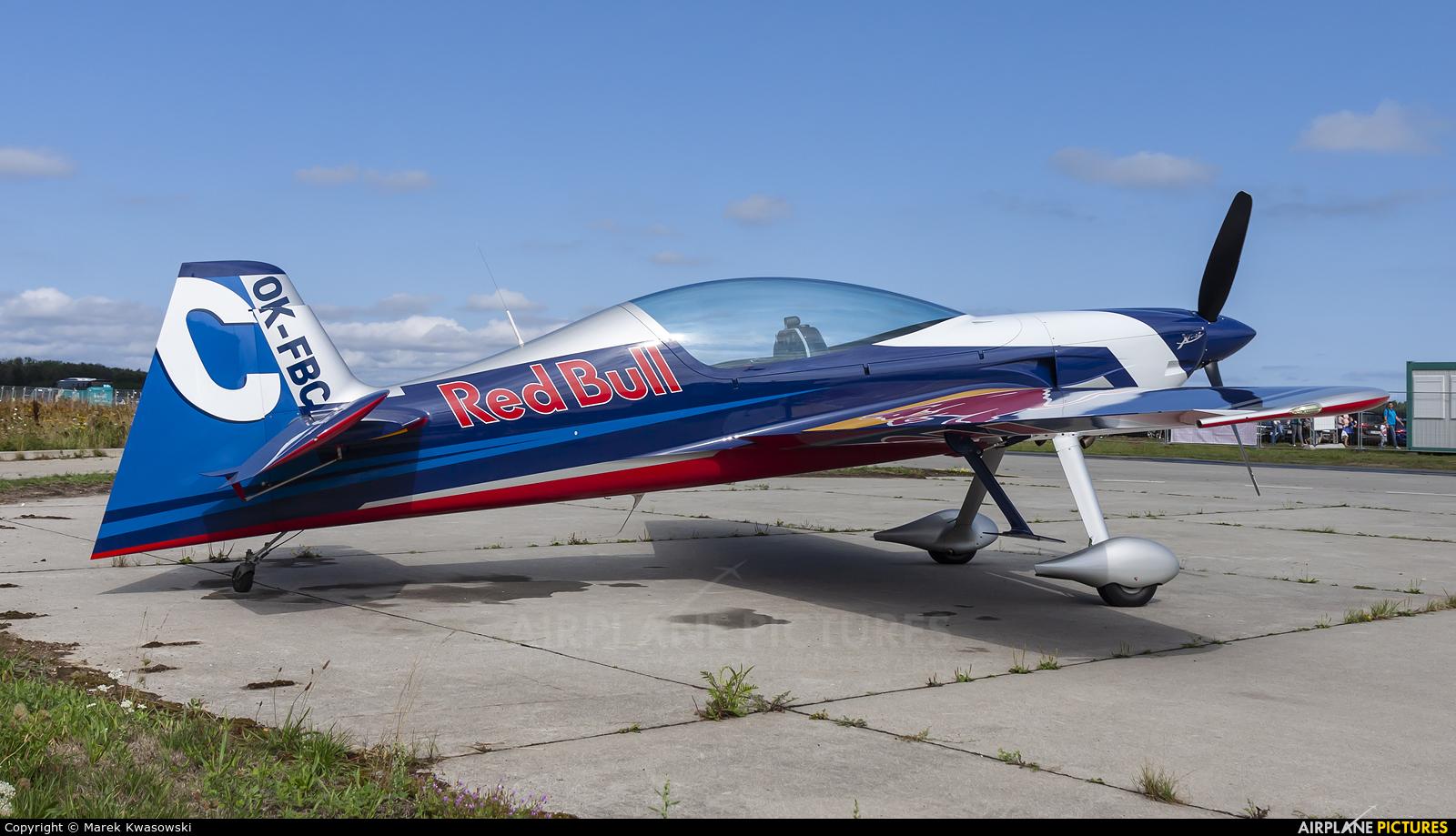 The Flying Bulls : Aerobatics Team OK-FBC aircraft at Gdynia- Babie Doły (Oksywie)