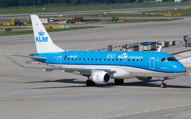 PH-EXH - KLM Cityhopper Embraer ERJ-175 (170-200)