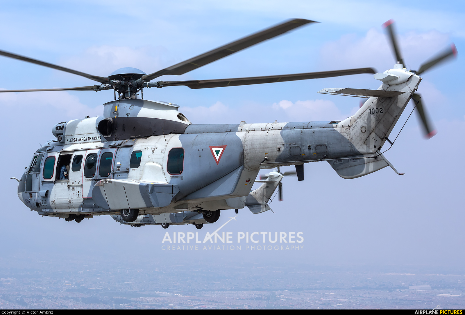 Mexico - Air Force 1002 aircraft at In Flight - Mexico