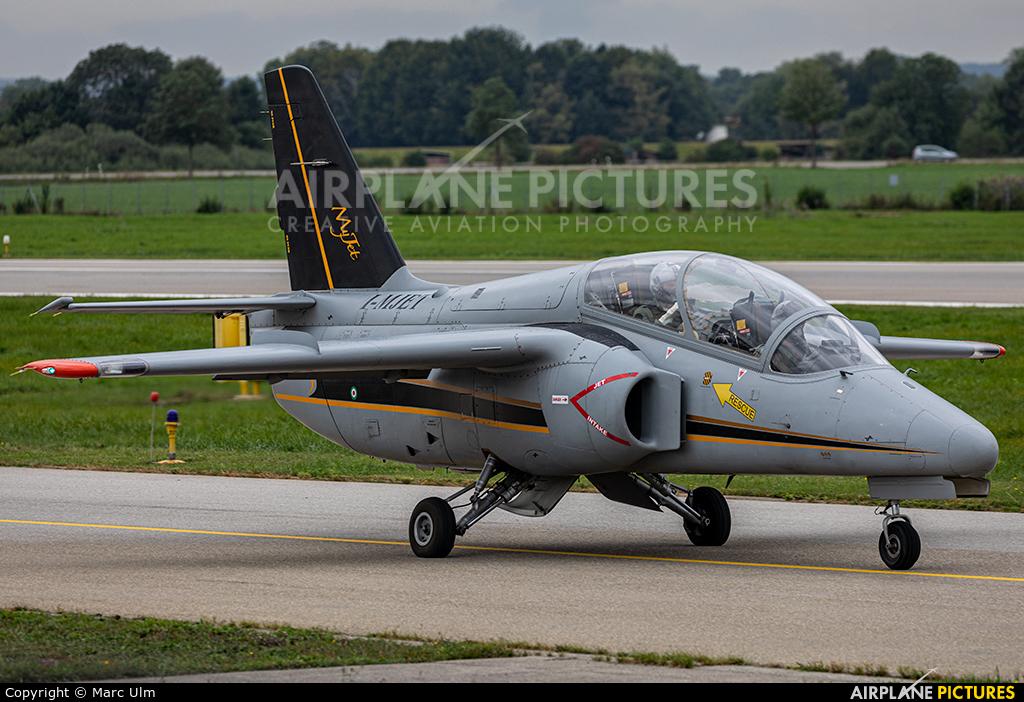 MyJet I-MJET aircraft at Augsburg