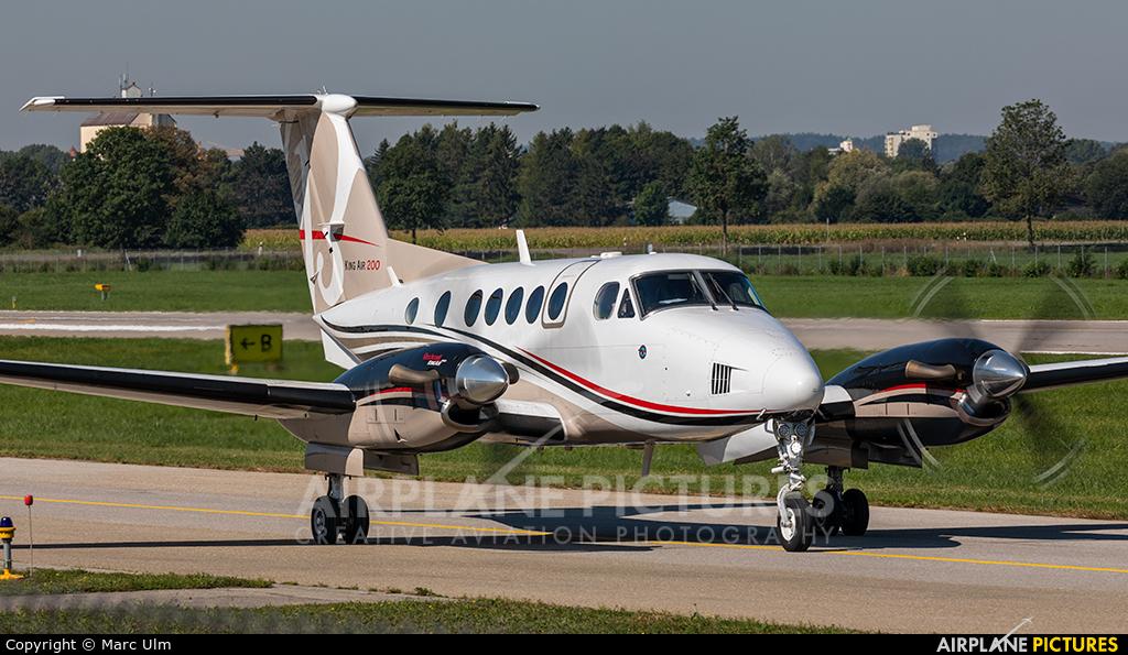 Private I-MLPA aircraft at Augsburg