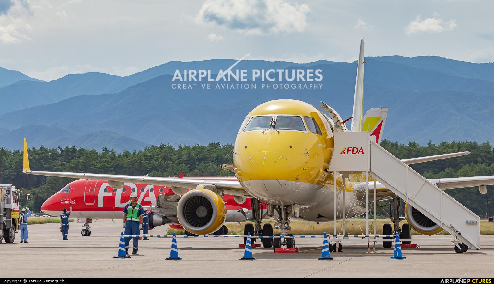 - Airport Overview JA07FJ aircraft at Shinshu - Matsumoto