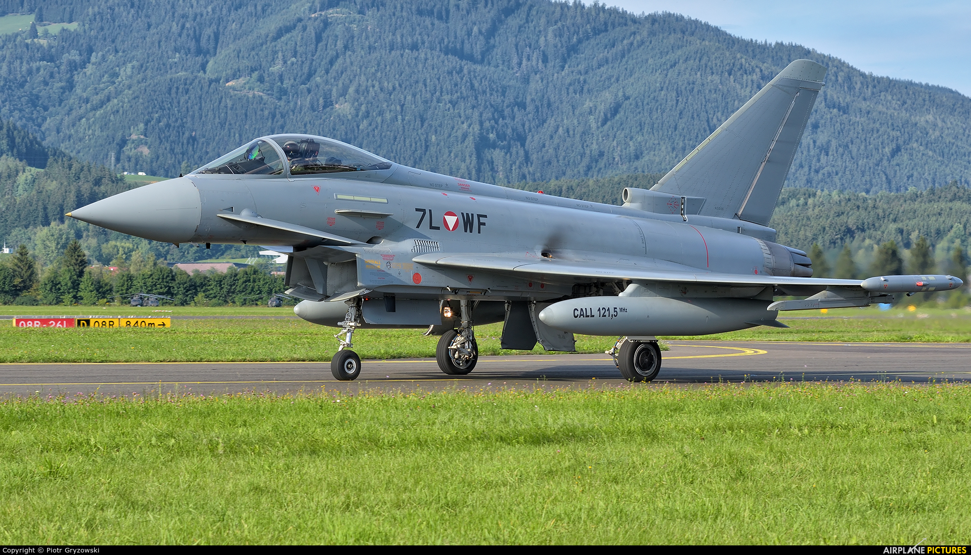 Austria - Air Force 7L-WF aircraft at Zeltweg