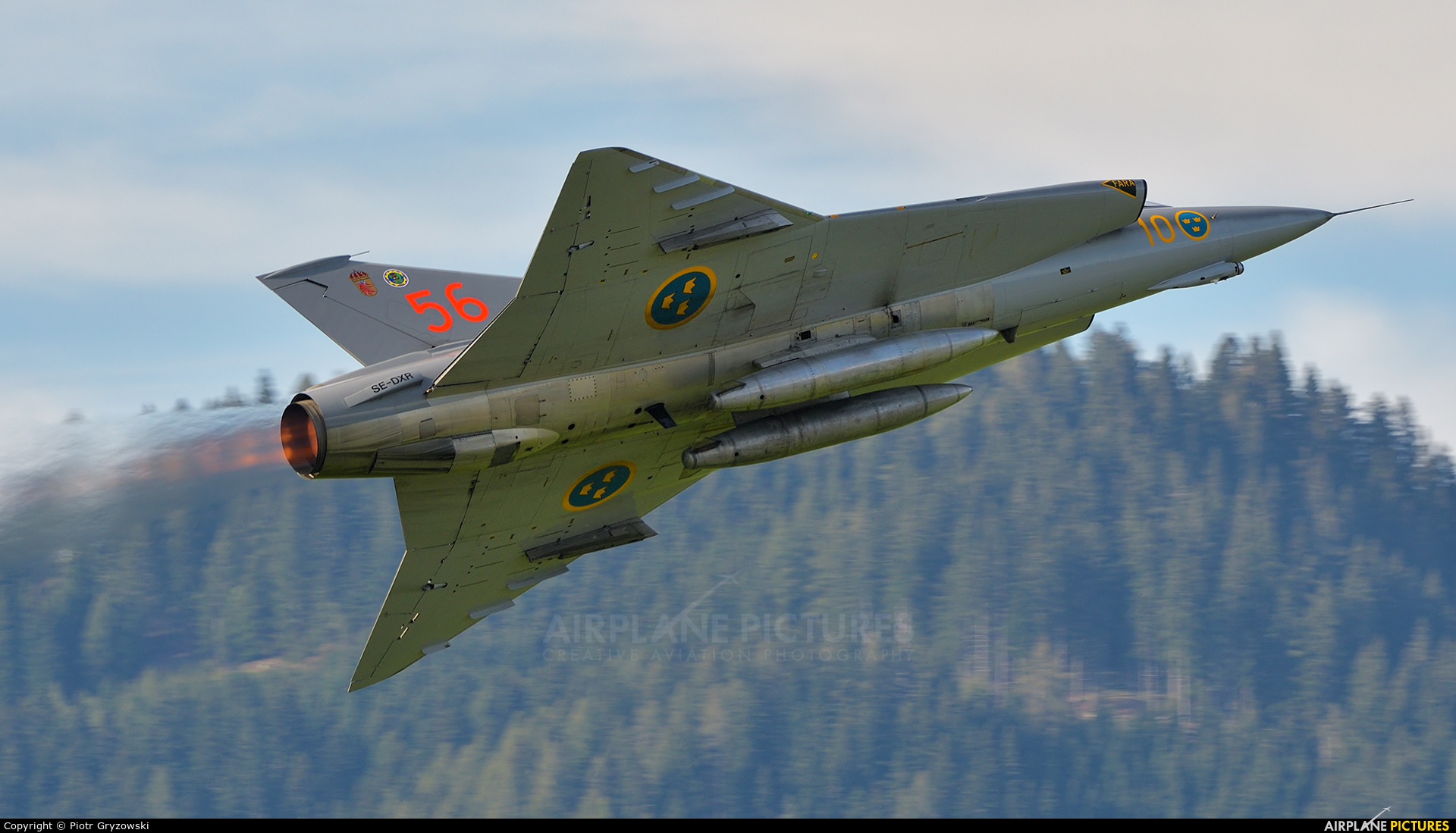 Swedish Air Force Historic Flight SE-DXR aircraft at Zeltweg