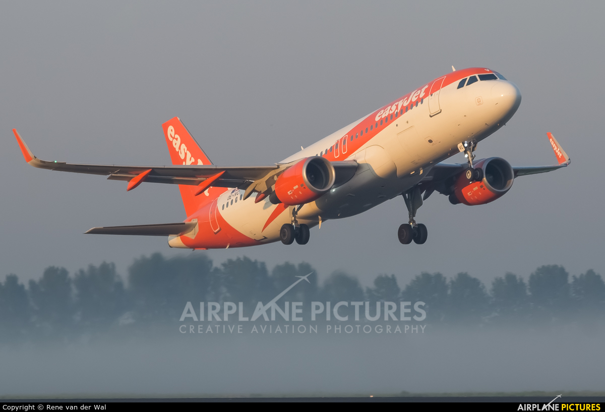easyJet Europe OE-IVC aircraft at Amsterdam - Schiphol