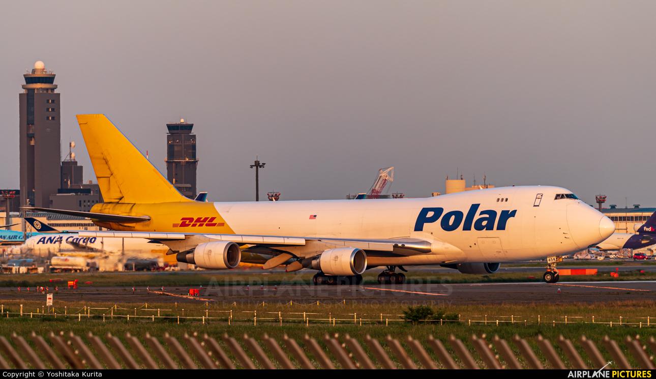 Polar Air Cargo N454PA aircraft at Tokyo - Narita Intl