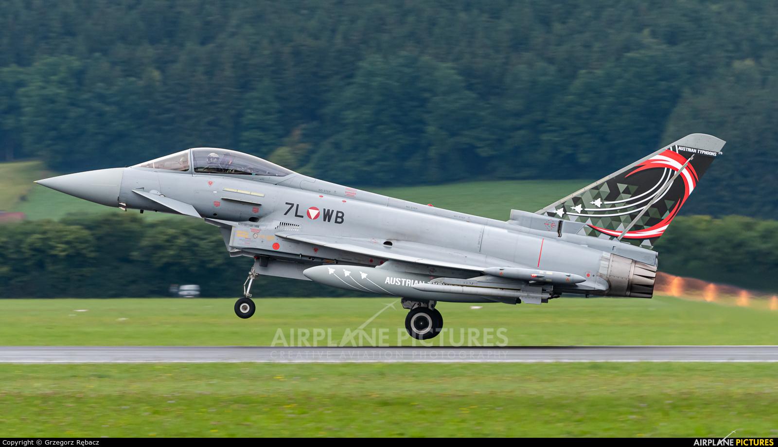 Austria - Air Force 7L-WB aircraft at Zeltweg