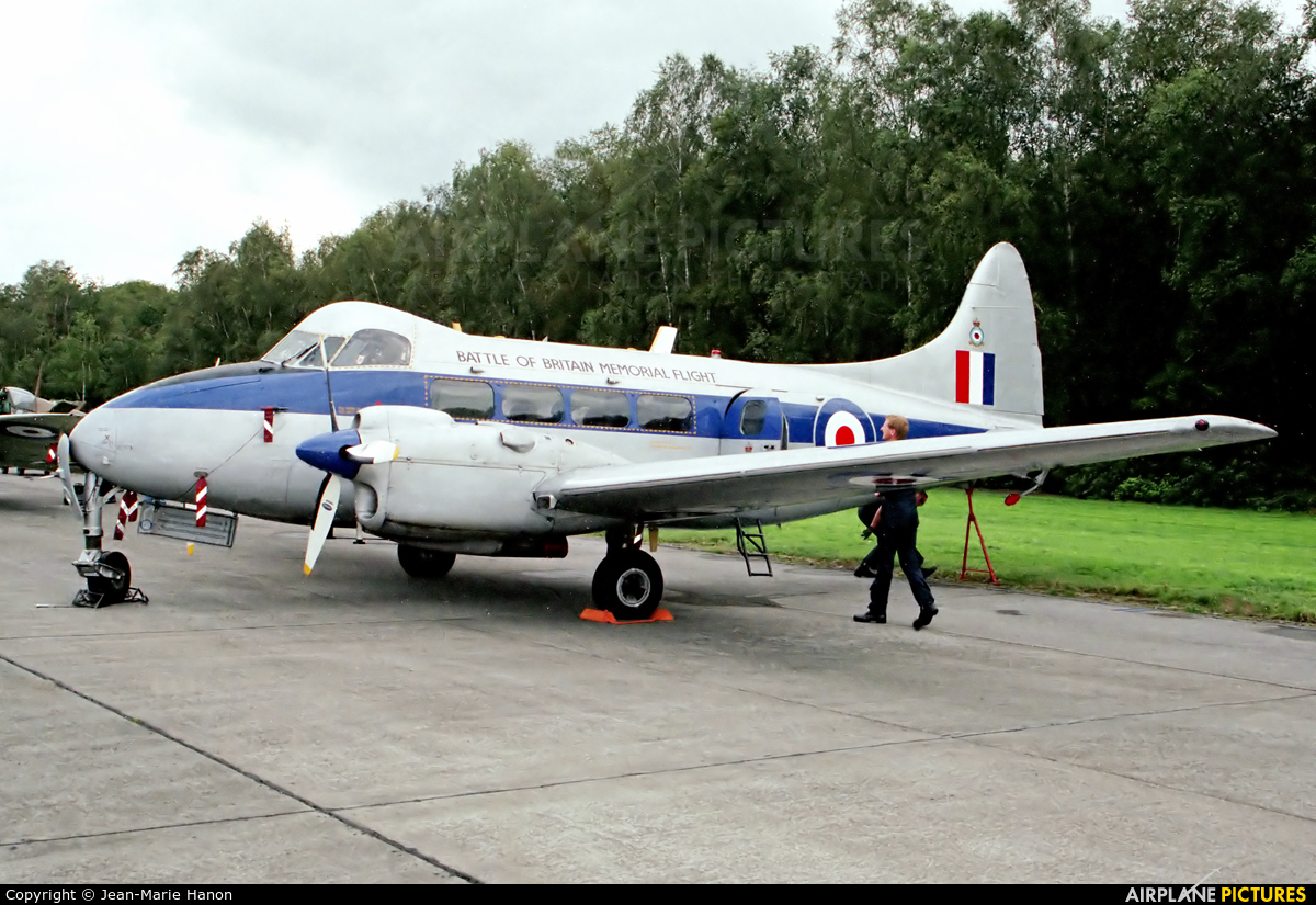 Royal Air Force VP981 aircraft at Zoersel (Oostmalle)
