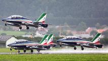 "MB-3394 - Italy - Air Force ""Frecce Tricolori"" Aermacchi MB-339-A/PAN aircraft"