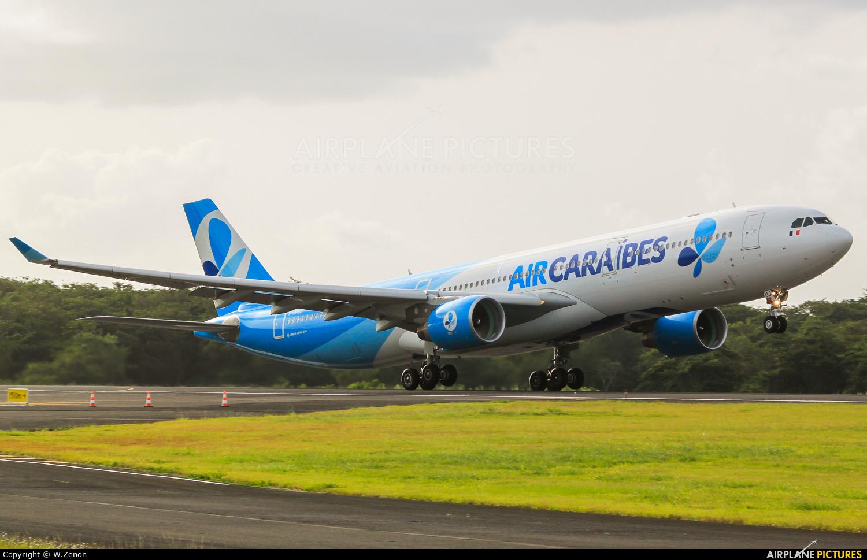 Air Caraibes F-HPUJ aircraft at Guadeloupe - Pointe-à-Pitre