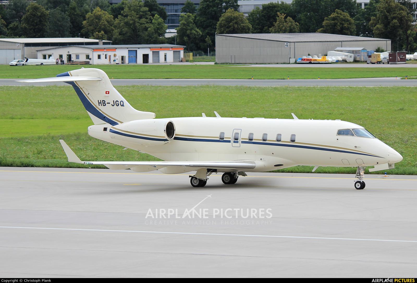 Execujet Europa AS HB-JGQ aircraft at Innsbruck