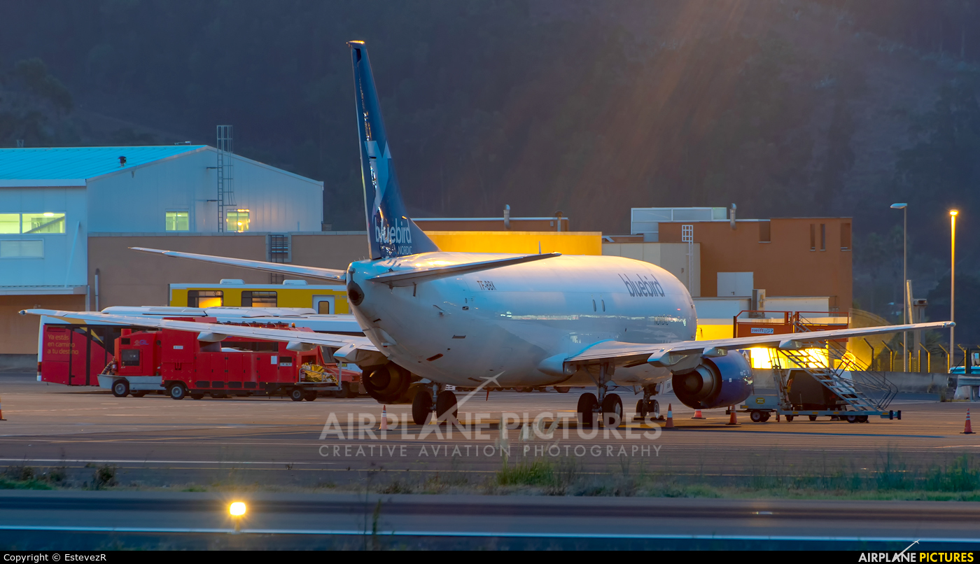 Bluebird Nordic TF-BBK aircraft at Tenerife Norte - Los Rodeos