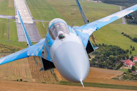 #1 Ukraine - Air Force Sukhoi Su-27 39 taken by Michal Adamowski