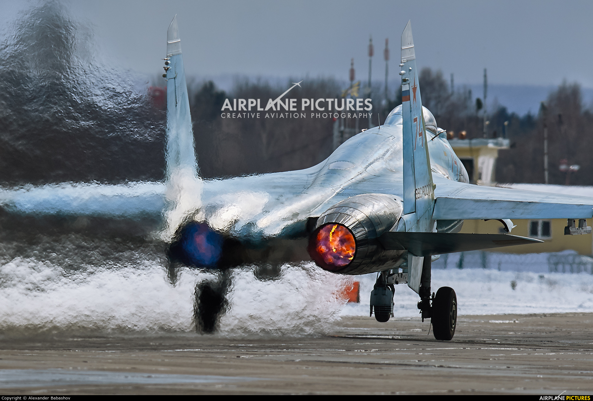 Russia - Air Force 74 aircraft at Undisclosed Location