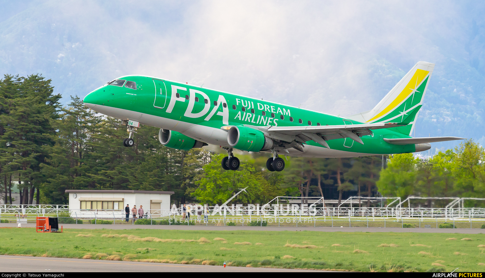 Fuji Dream Airlines JA04FJ aircraft at Shinshu - Matsumoto