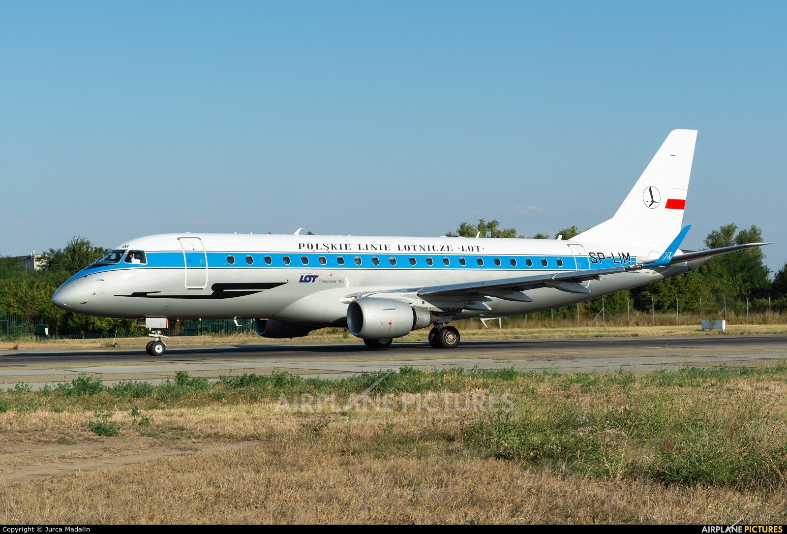 LOT - Polish Airlines SP-LIM aircraft at Bucharest - Henri Coandă