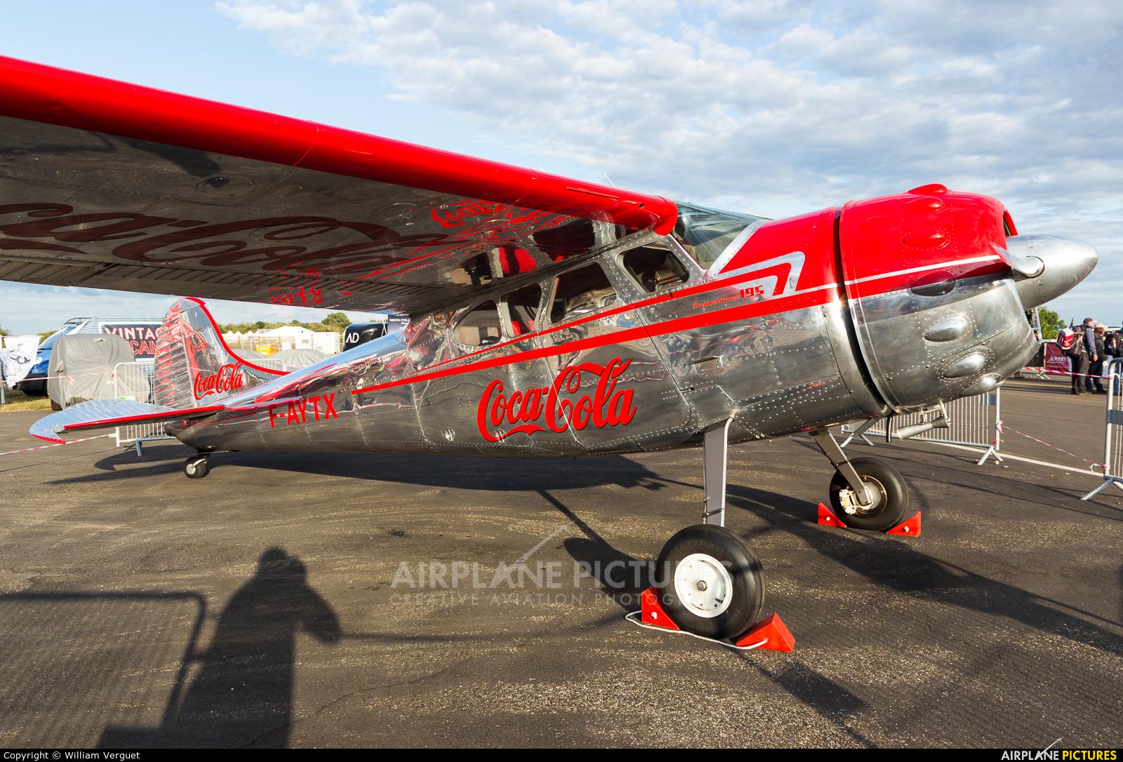 Private F-AYTX aircraft at Melun-Villaroche