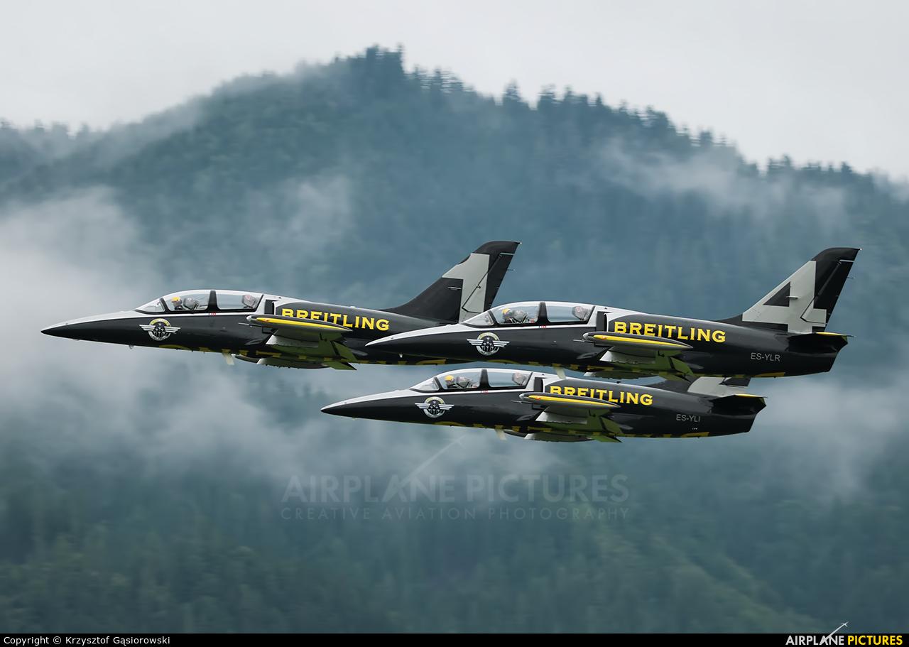Breitling Jet Team ES-YLR aircraft at Zeltweg
