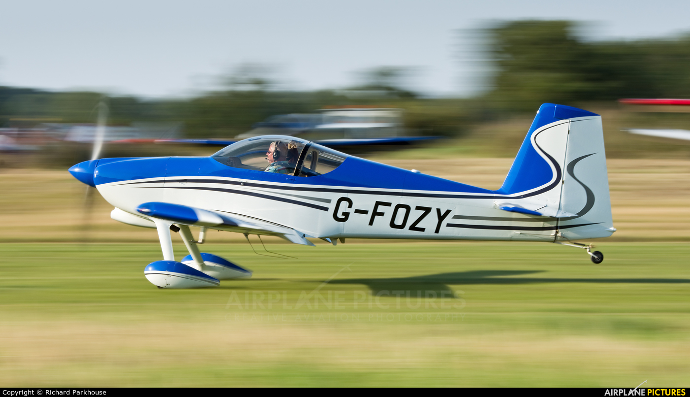 Private G-FOZY aircraft at Little Gransden