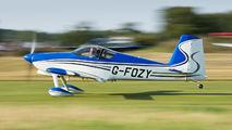 G-FOZY - Private Vans RV-7 aircraft