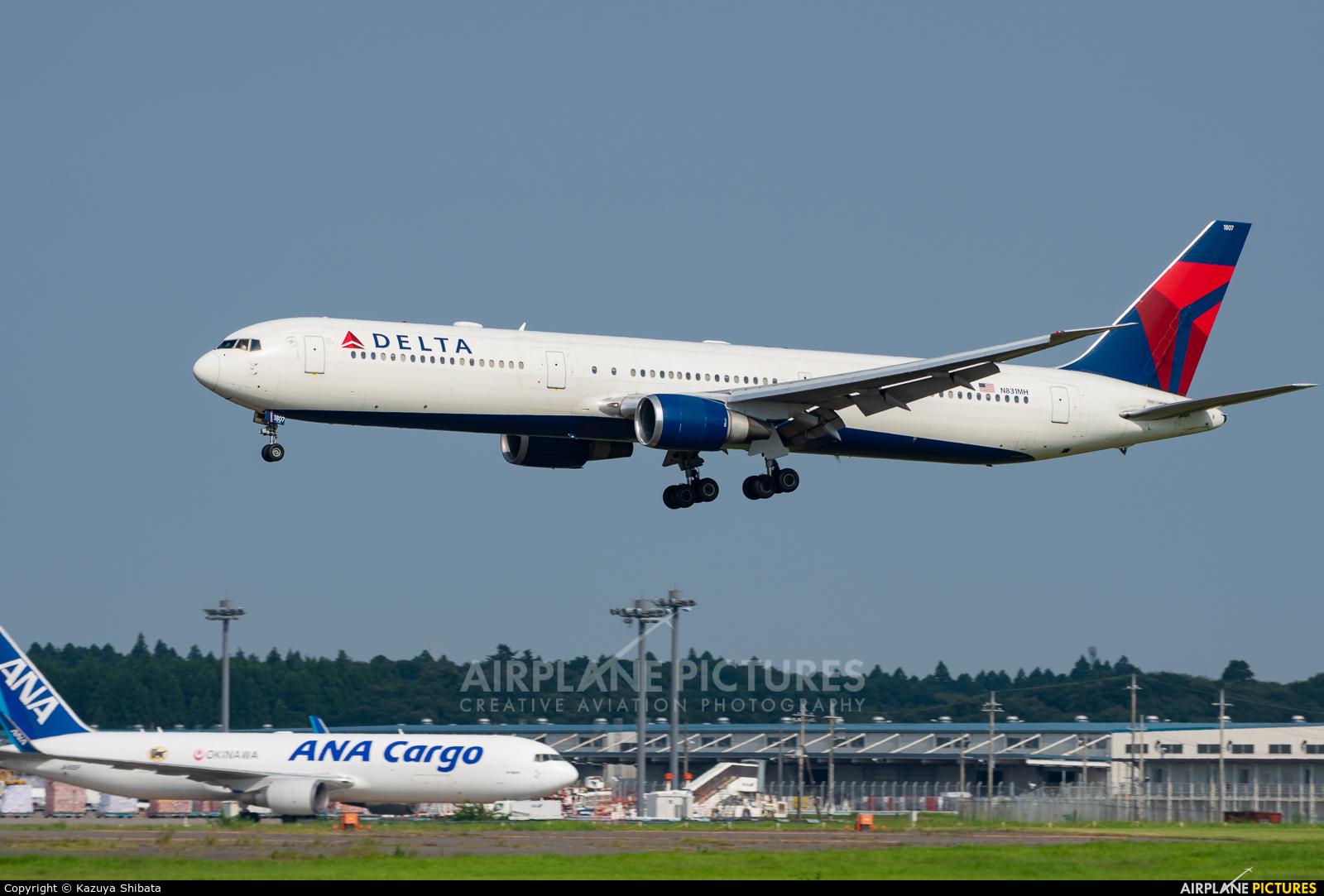 Delta Air Lines N831MH aircraft at Tokyo - Narita Intl