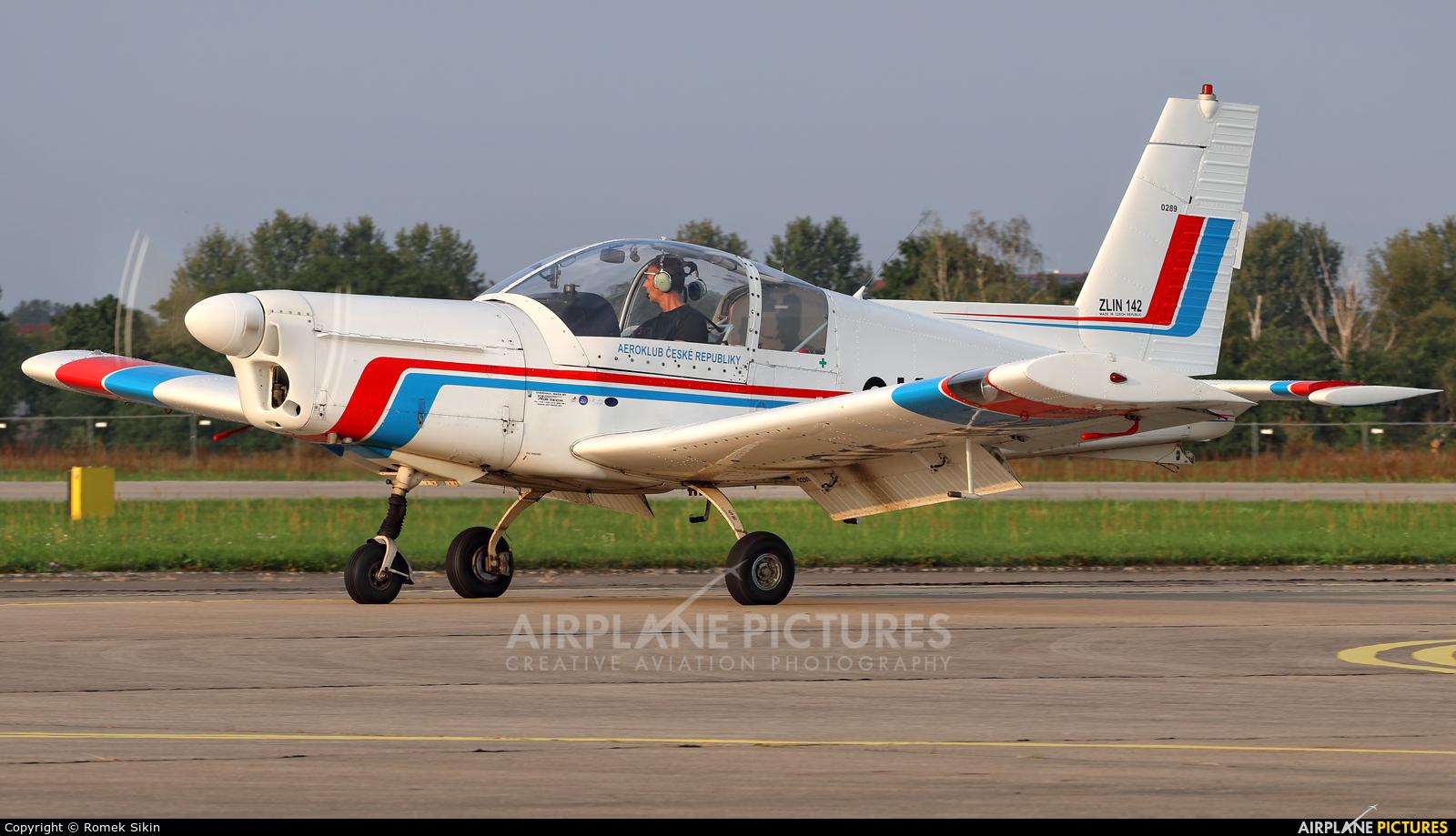 Aeroklub Hodkovice OK-MNJ aircraft at Hradec Králové