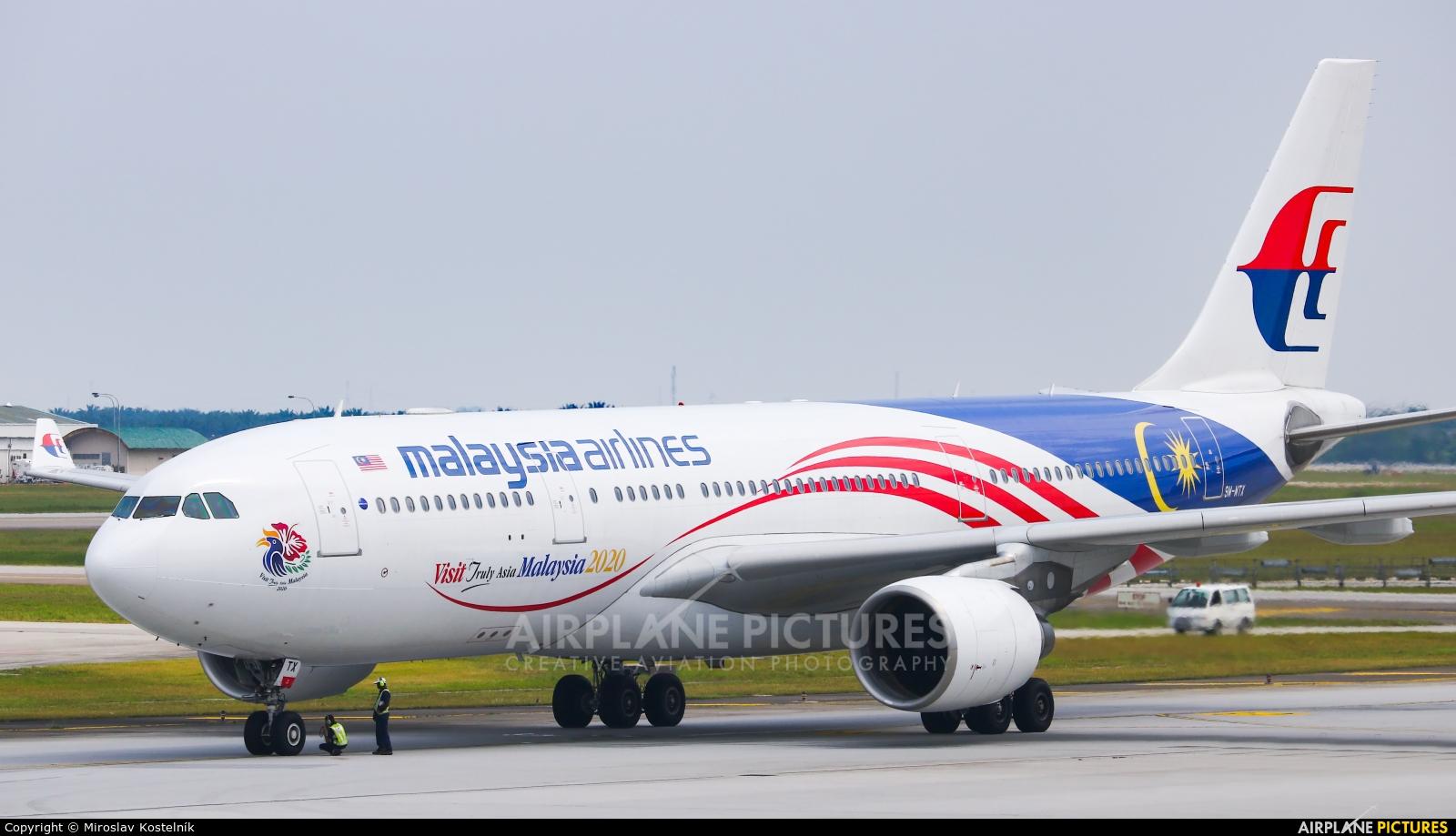 Malaysia Airlines 9M-MTX aircraft at Kuala Lumpur Intl