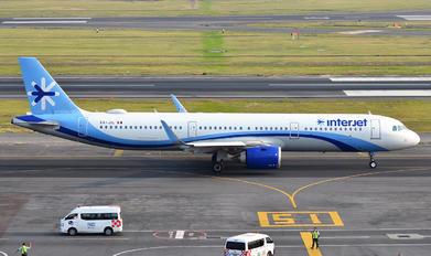 XA-JIL - Interjet Airbus A321 NEO