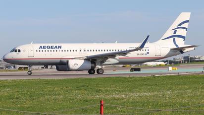 SX-DNC - Aegean Airlines Airbus A320