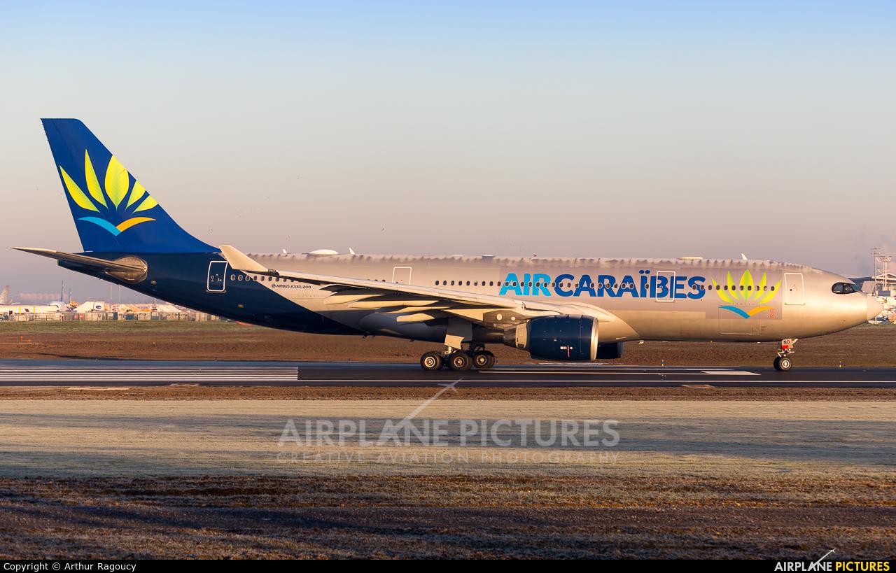 Air Caraibes F-HUNO aircraft at Paris - Orly
