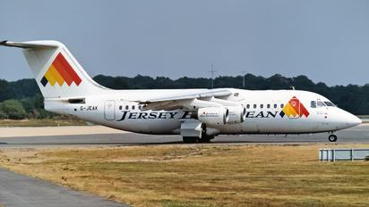 G-JEAK - Jersey European British Aerospace BAe 146-200/Avro RJ85
