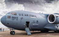 93-0603 - USA - Air Force Boeing C-17A Globemaster III aircraft