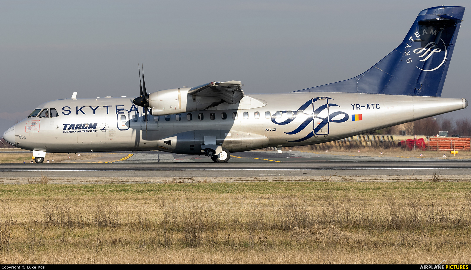 Tarom YR-ATC aircraft at Bucharest - Henri Coandă