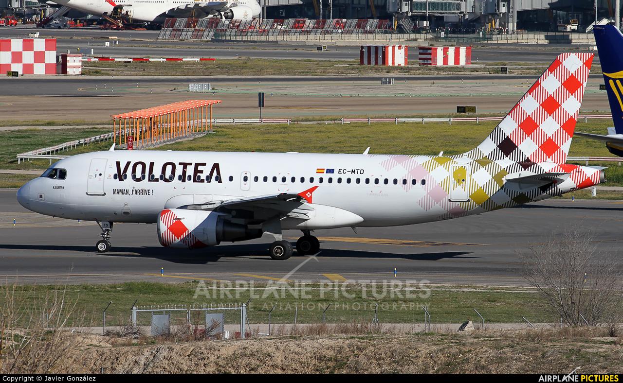 Volotea Airlines EC-MTD aircraft at Madrid - Barajas