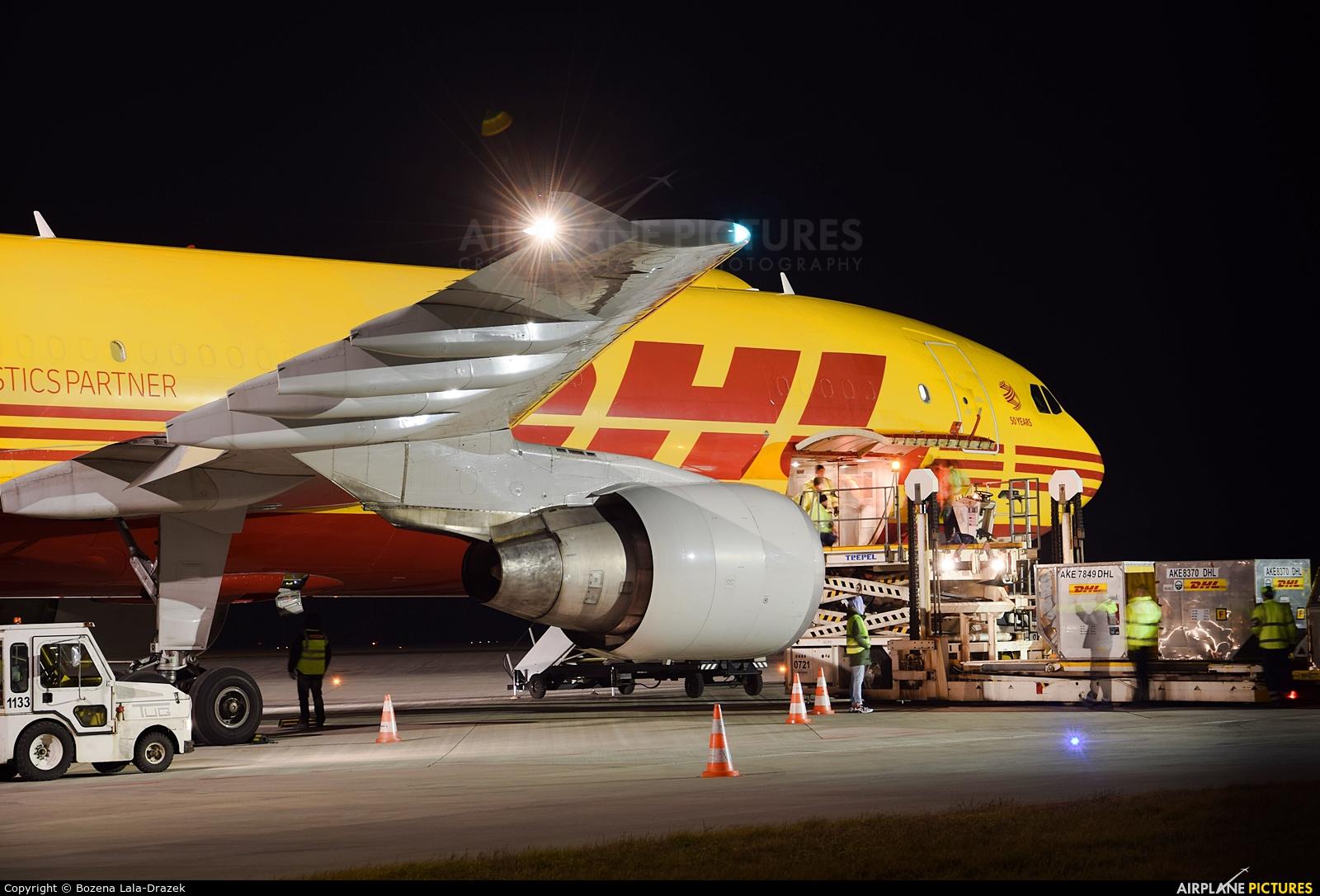 DHL Cargo D-AEAQ aircraft at Katowice - Pyrzowice