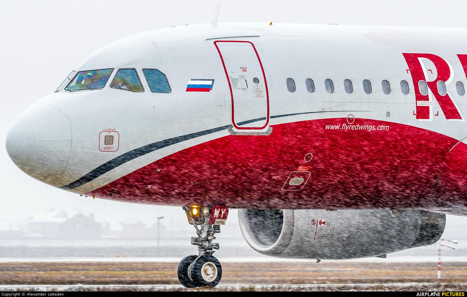 Red Wings VP-BWY aircraft at Krasnodar