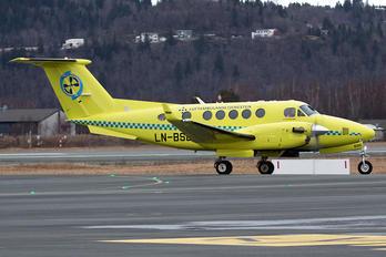LN-BSD - Babcock Scandinavian AirAmbulance Beechcraft 200 King Air