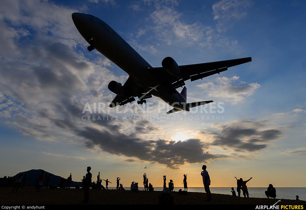 Ikar Airlines VP-BDI aircraft at Phuket