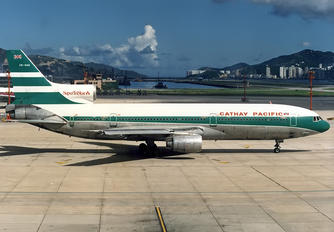 VR-HHK - Cathay Pacific Lockheed L-1011-100 TriStar