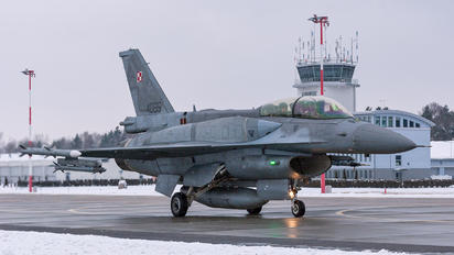 4085 - Poland - Air Force Lockheed Martin F-16D block 52+Jastrząb