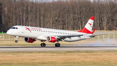 OE-LWK - Austrian Airlines/Arrows/Tyrolean Embraer ERJ-195 (190-200)