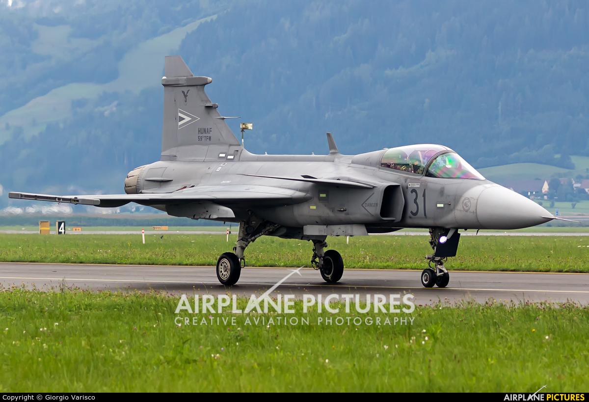Hungary - Air Force 31 aircraft at Zeltweg