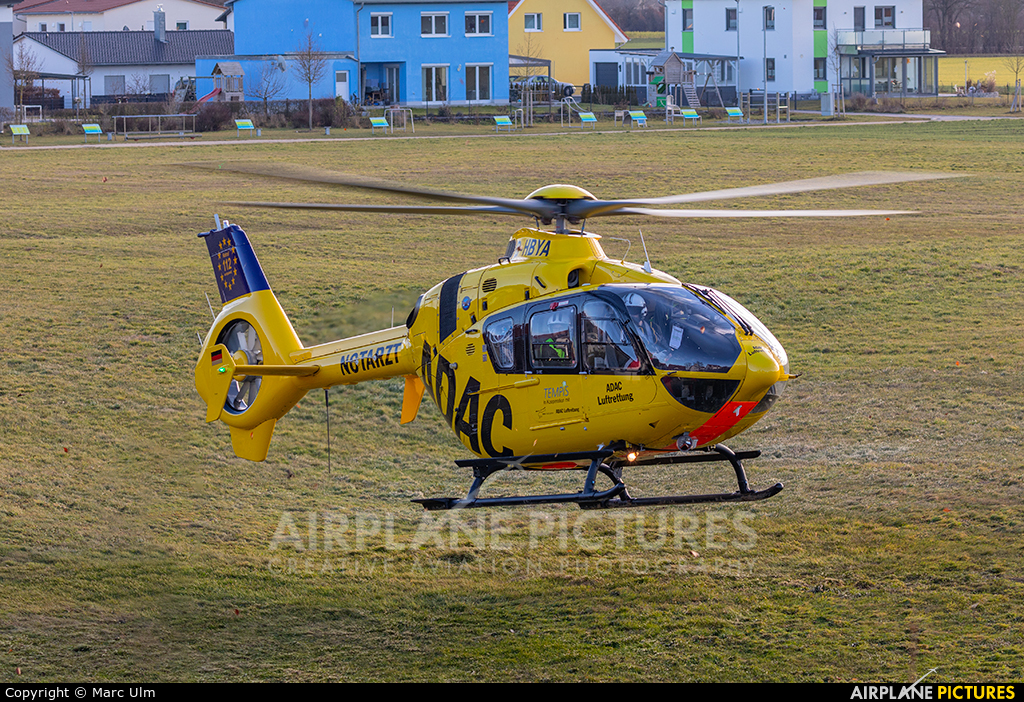 ADAC Luftrettung D-HBYA aircraft at Off Airport - Germany